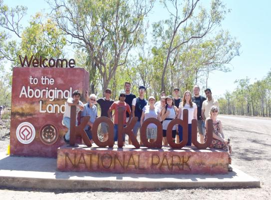 IHD Residents at Kakadu