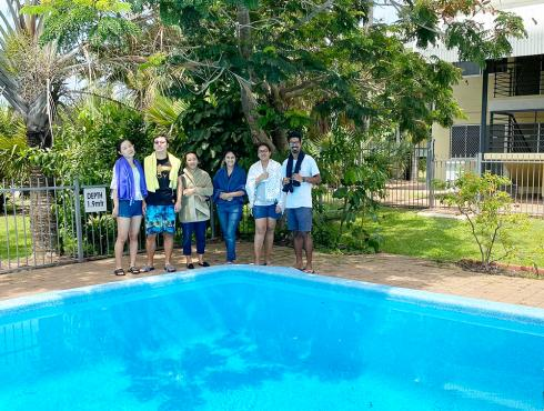 Learn-to-swim for IHD Residents