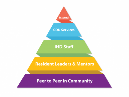 Pyramid of Support