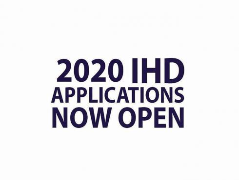 2020 IHD Applications Now Open