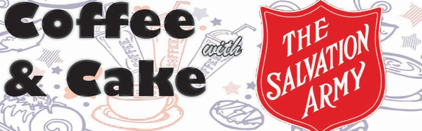 Coffee and Cake with The Salvation Army