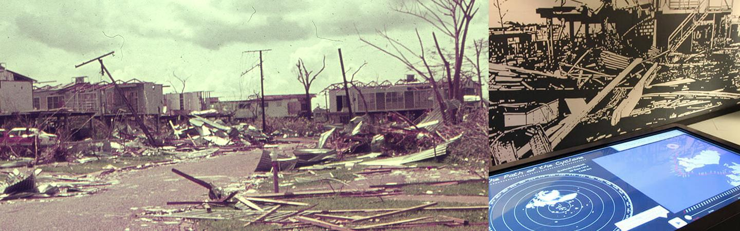 MAGNT: Cyclone Briefing and Cyclone Tracy Exhibition Visit