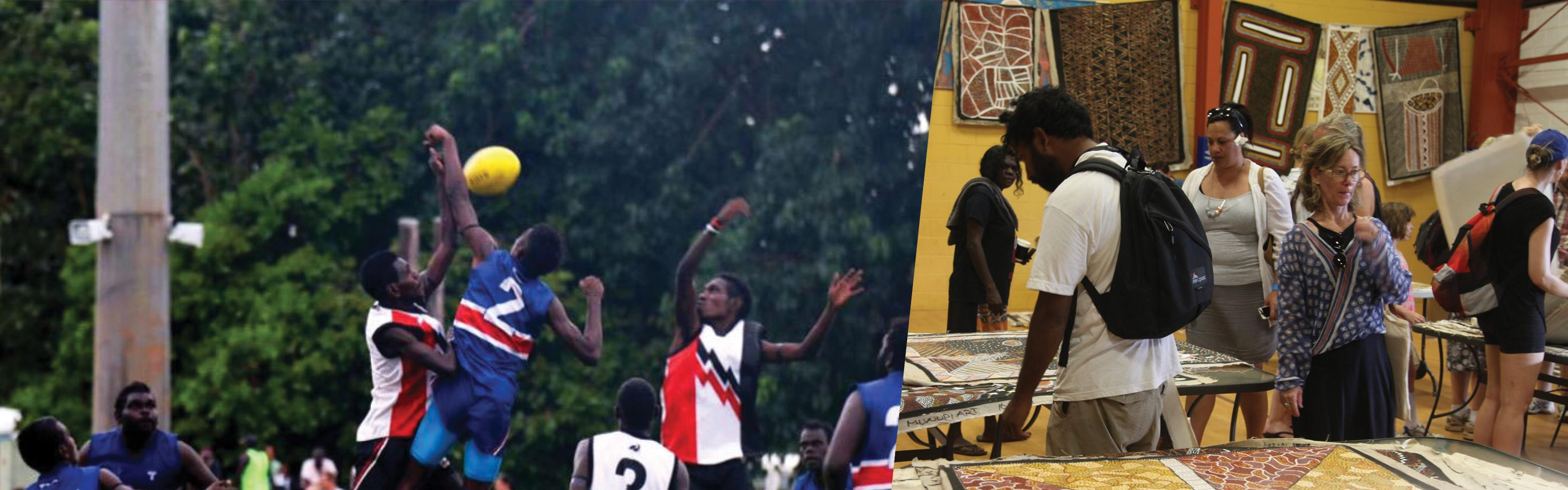 The Tiwi Islands Annual Art Sale & Football Grand Final