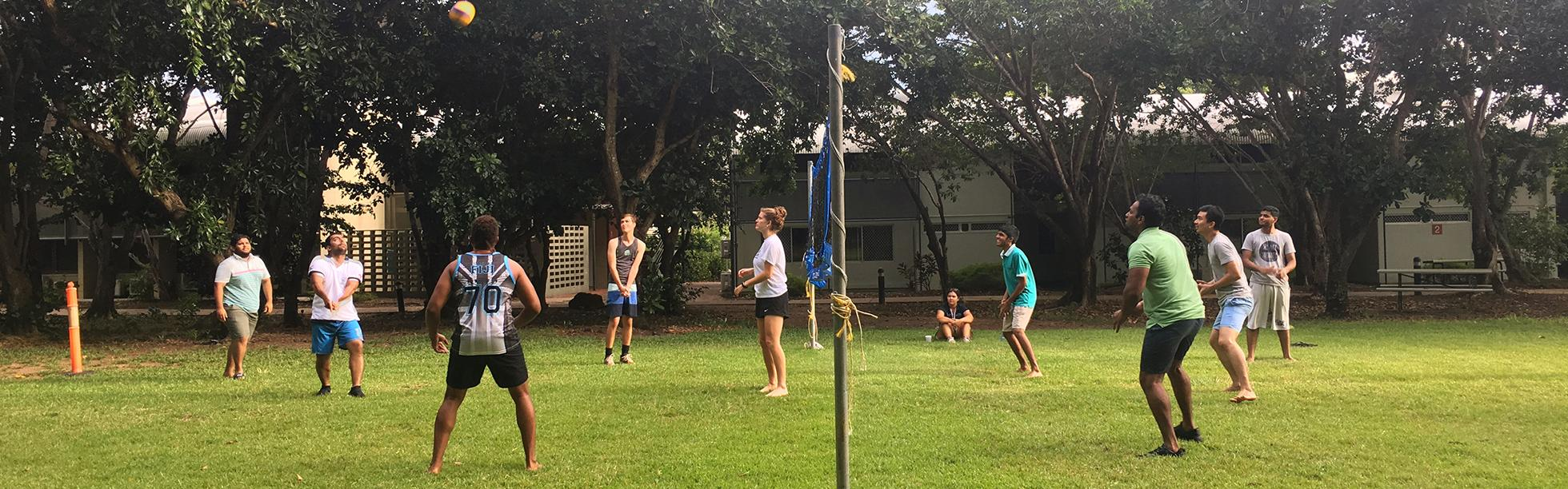Volleyball on the Lawns